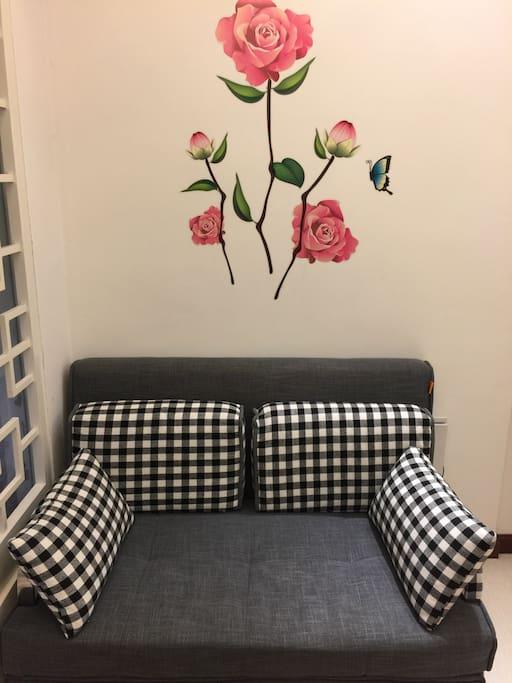 一米二的沙发床