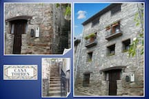 Fachada principal casa Torres