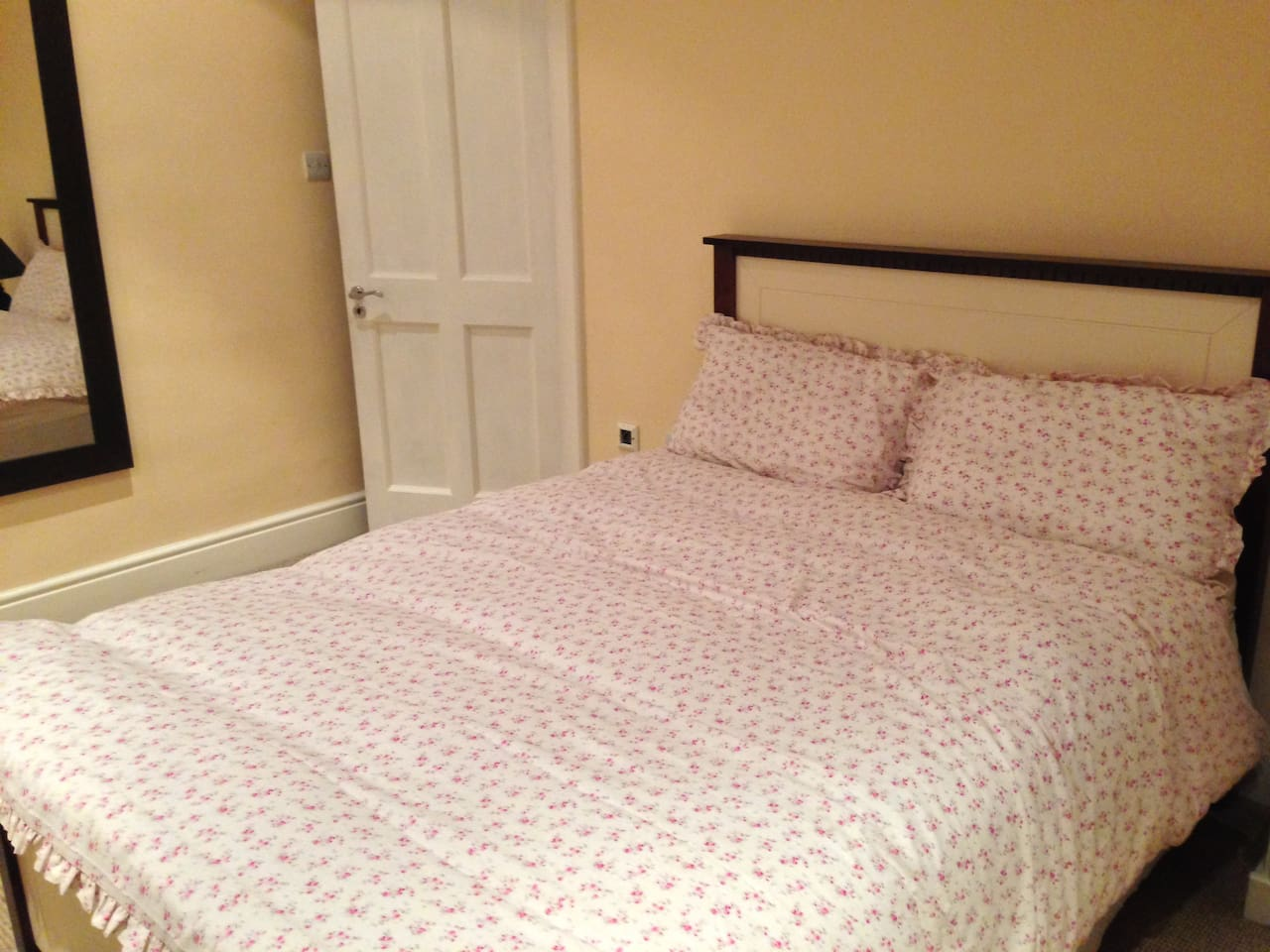 Quality, comfortable double bed.
