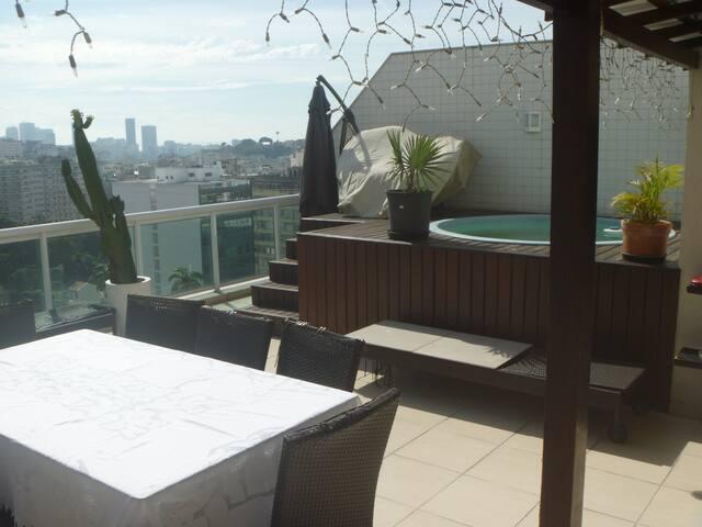 Alugo Apartamento Laranjeiras para Olimpíadas 2016 - Rio de Janeiro - Byt