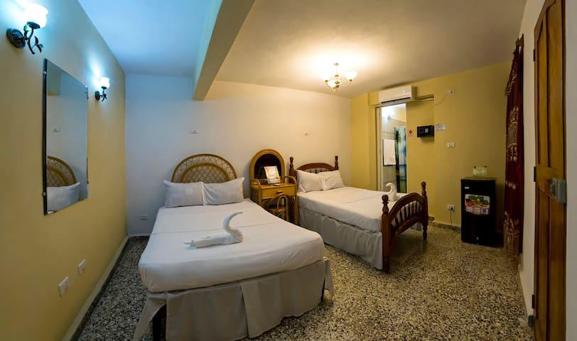 Habitación ideal para 4 personas