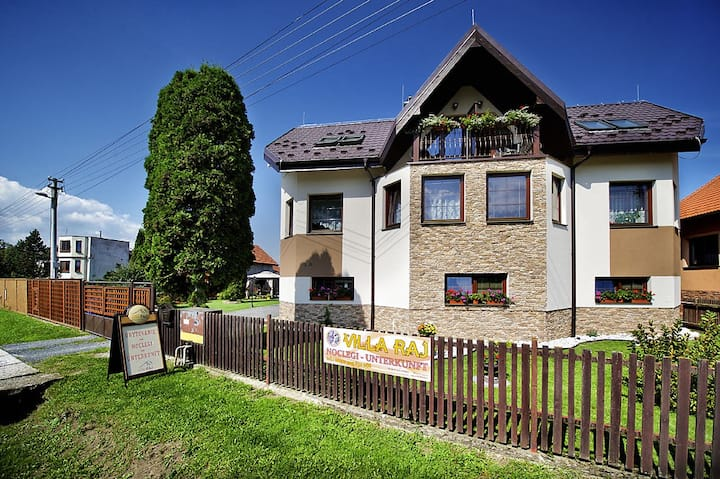 Villa Raj-Hrabušice-Slovenský raj