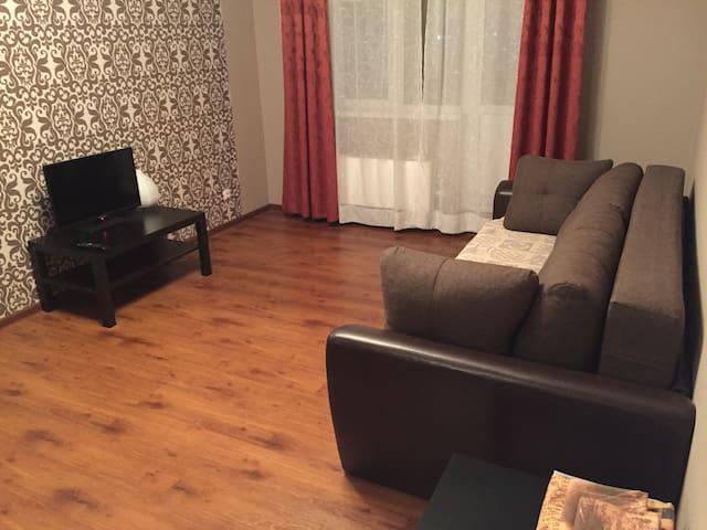 Уютная квартира на Ул. Поликахина - Железнодорожный - Leilighet