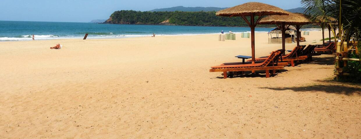 Vacation rentals in Palolem Beach