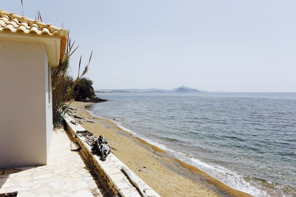 Straight access to the sea