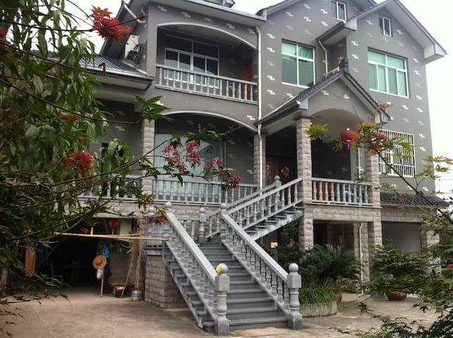 莫干山的温馨德逸山庄 - Huzhou - Hus