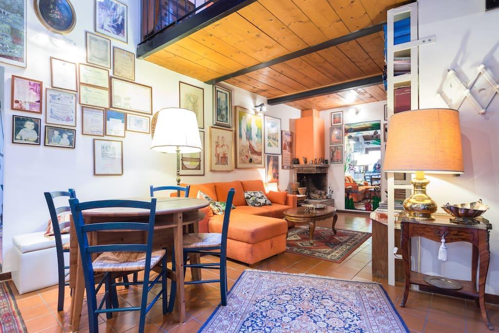 soggiorno - sitting room