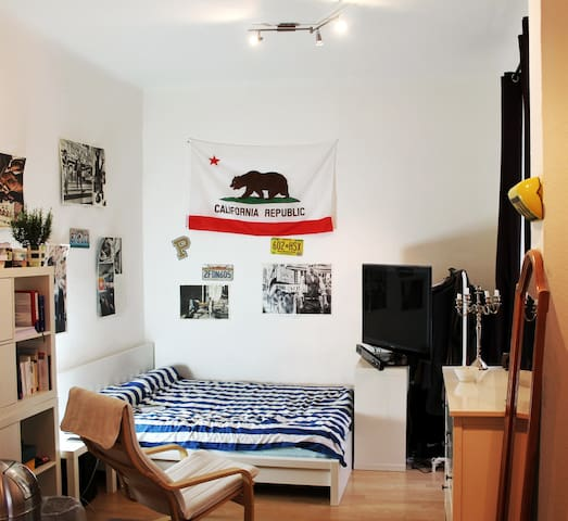 Cozy, quiet, fully equipped single room apartment
