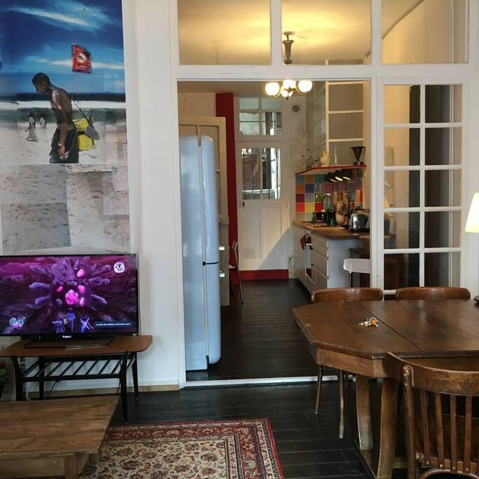 Salon séjour au rez-de-chaussée
