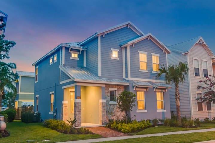 Orlando - Casa Cond. Reunion Resort - Kissimmee - Apto. en complejo residencial