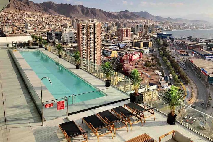 Luxury Design Apartment/ Puerto Nuevo Antofagasta.