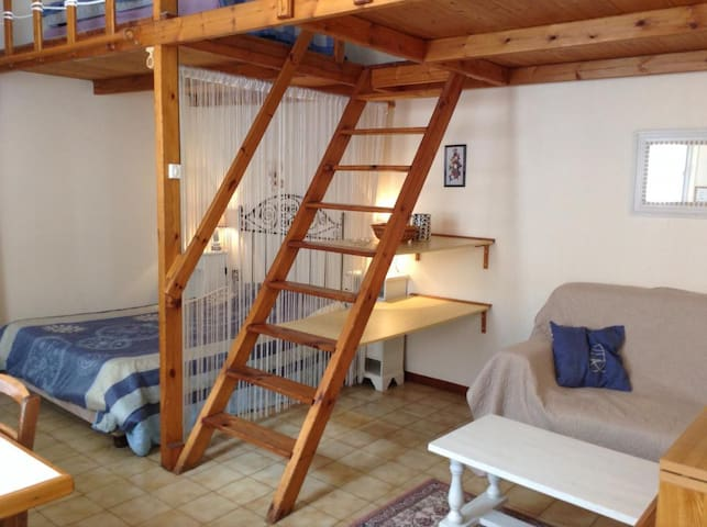 Studio tous conforts proche centre - Rochefort - Apartemen