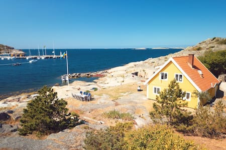 Private Peninsula with House + Cottage in Kullavik