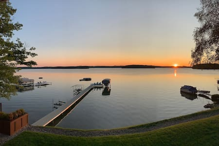 Long Lake Home, Peaceful Retreat, close to town