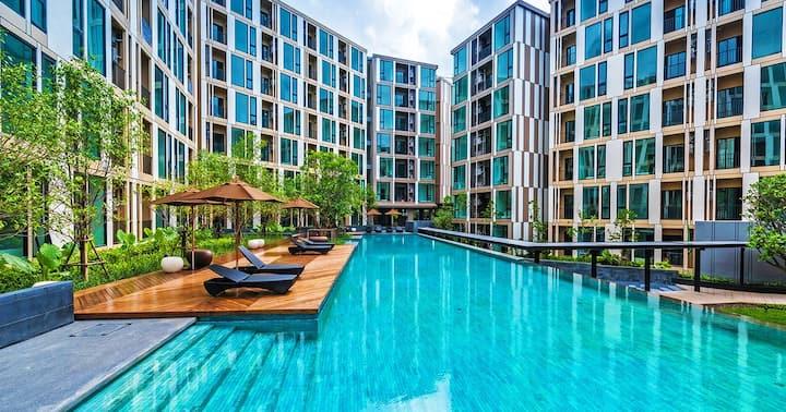 Two Bedroom / Nice Poolview / Phuket Town / U108