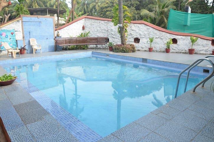 comfort stay goa cozy,1bhk pool 3 - goa - Wohnung