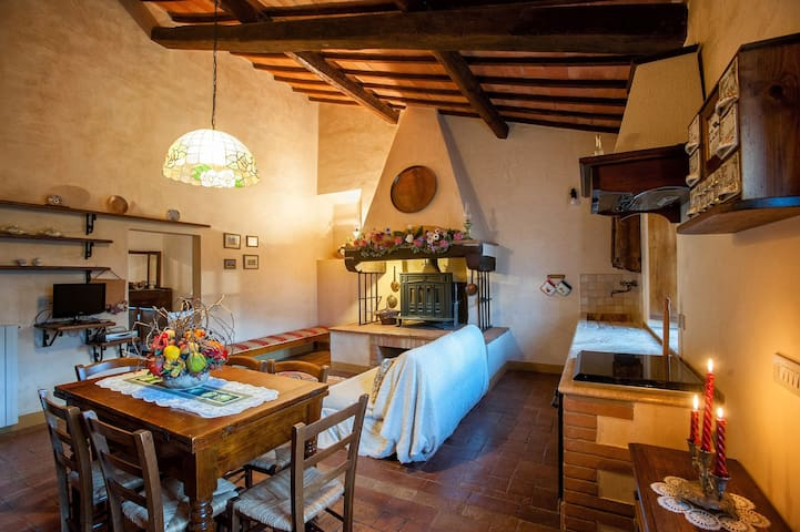 Appartamento per 2 in Toscana - Castiglione D'orcia - Apartamento