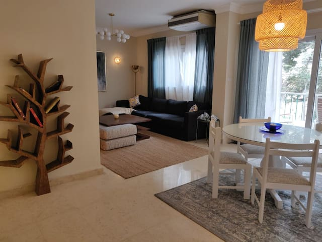 Lemon Spaces, Newly Renovated 2 BR flat in Maadi