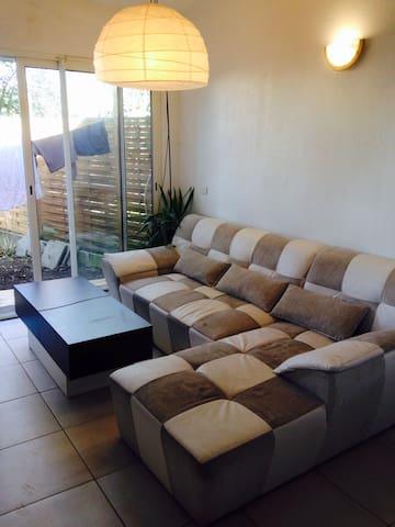 Appartement avec jardin - Bassens - Lägenhet