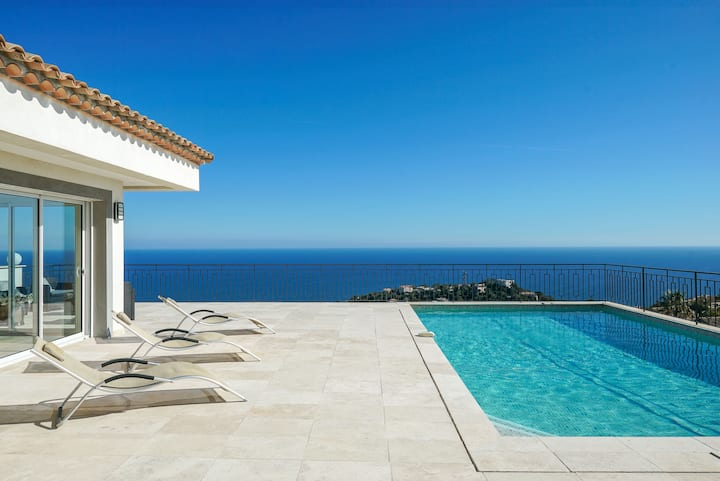 Villa l'Horizon - villa with breathtaking sea view