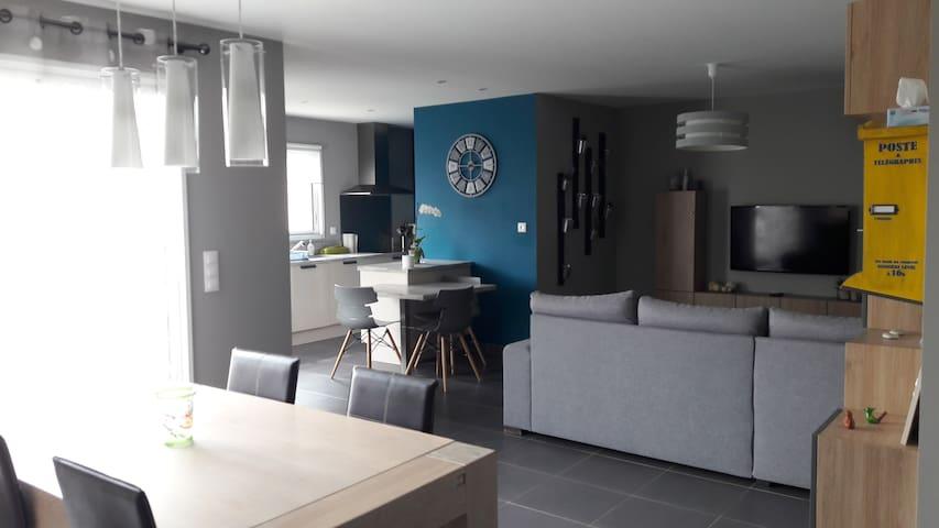 Charmante maison à 10 min de La Rochelle