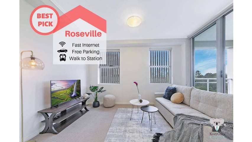 Welcome Home 2Bed APT +PARKING | Roseville NRO005