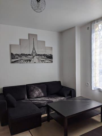 Private apartment near Paris and Disneyland