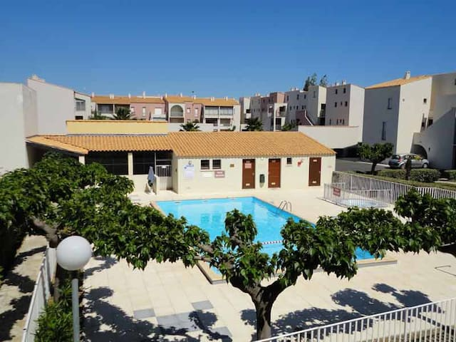 Cap d'Agde, Richelieu, 4 Pers., Piscine, Parking