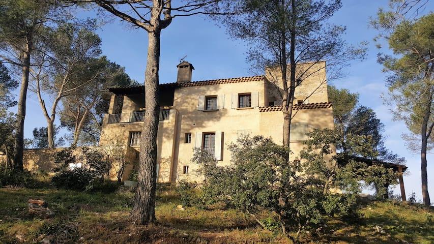 Tres grande villa dans la pinède