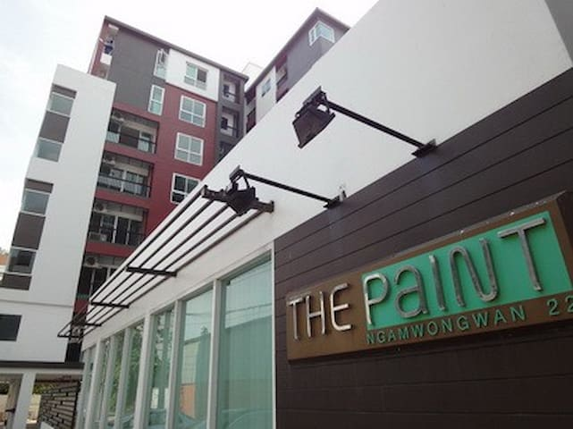 The Paint Condo (Blue Tower) Fl.5 - Nonthaburi - Apartament
