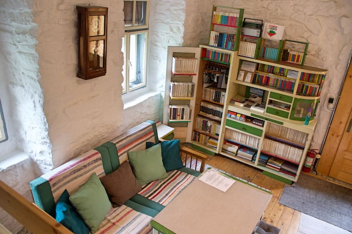 Books Room in an historic house