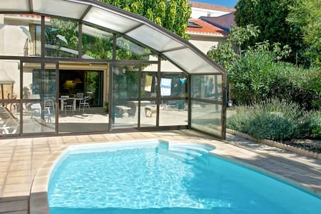 Great flat with garden and pool - Marseillan