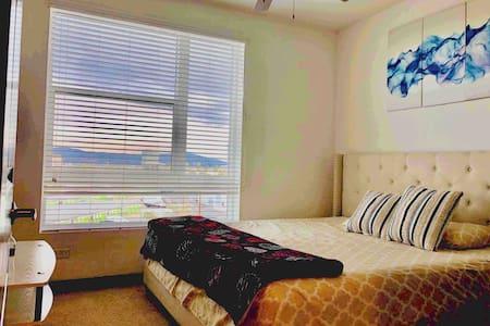 Clean, Cozy, Convenient Master Bedroom