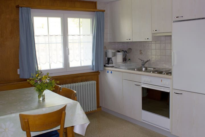Chalet Good, (Flumserberg Tannenheim), 2.5-room appartement bath/shower