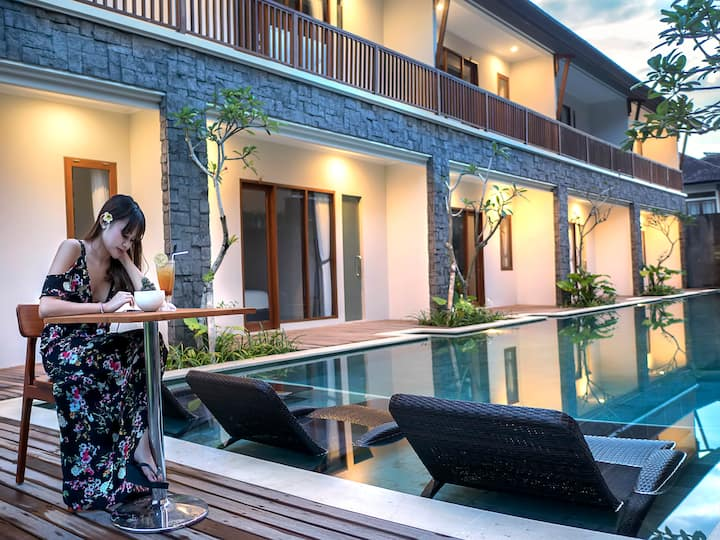 Private Room at Down Town Denpasar City
