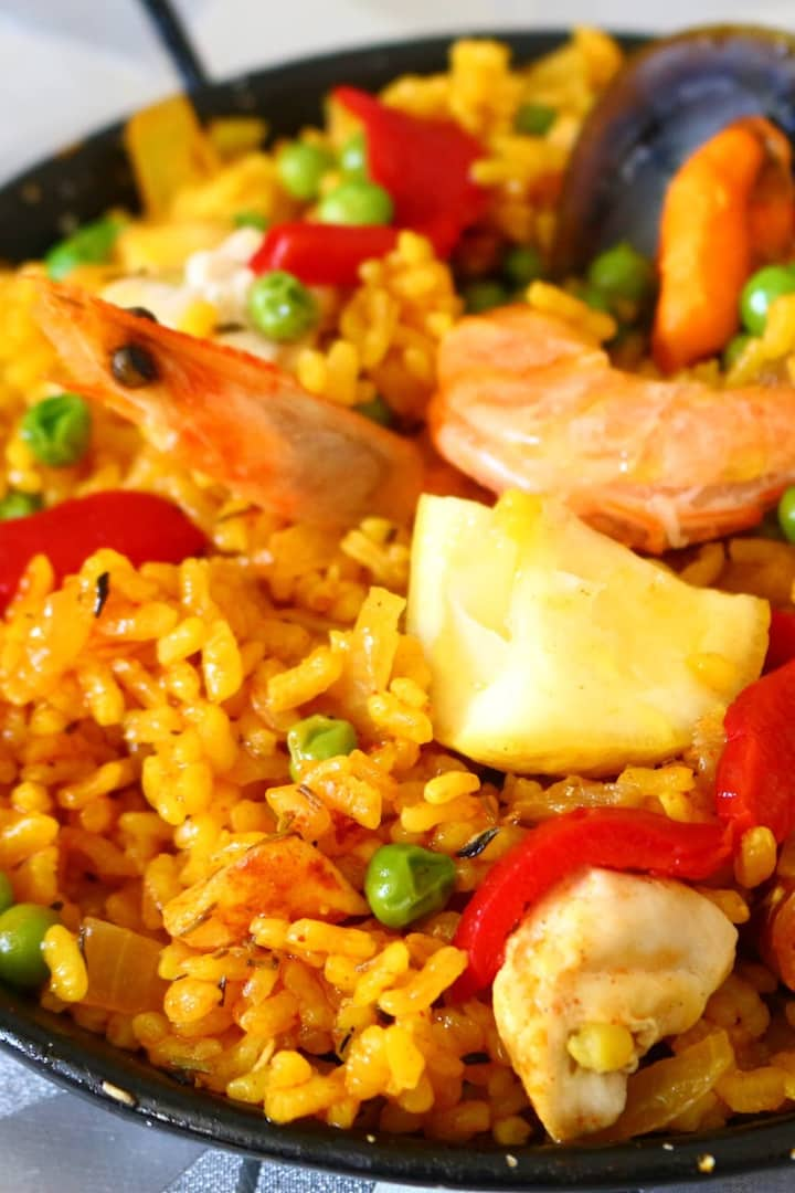 Paella for one
