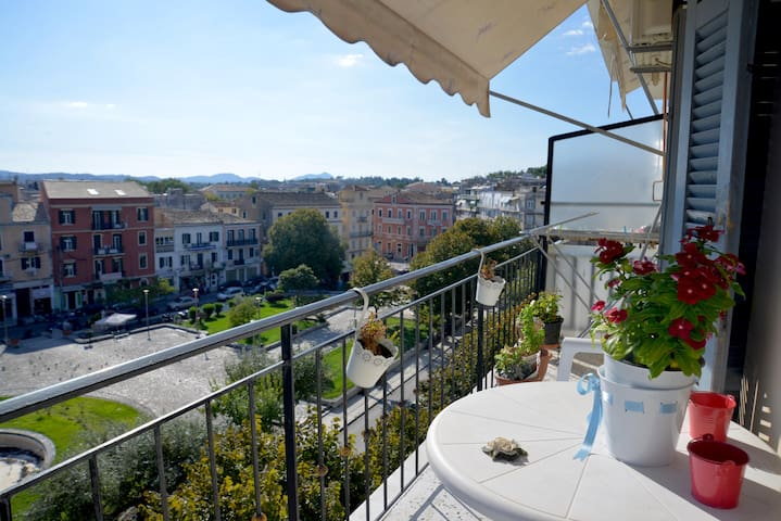 Beautiful room in the Corfu center - Korfu - Apartament