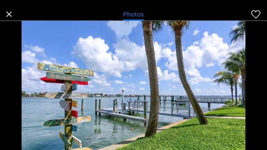 Florida Way - MALYN Waterfront Resort, Boat Access