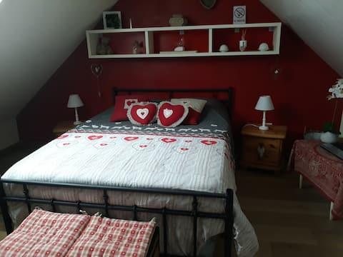 Кровать и завтрак в центре Бургундии