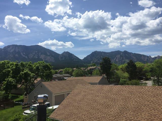 South Boulder Condo with Stunning Views - Boulder - Condominio