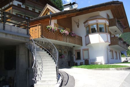 Charming Holiday Apartment Villa Mazzel-Cima 12 with Wi-Fi & Mountain View; Parking Available, Pets Allowed