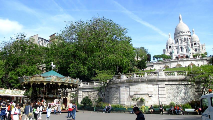 A 10 minutes à pied de Montmartre
