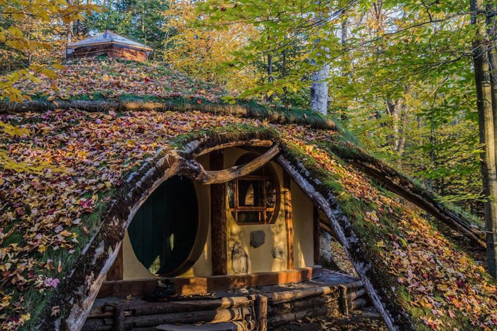 Maison de Hobbit - Earth houses for Rent in Nominingue, Québec, Canada