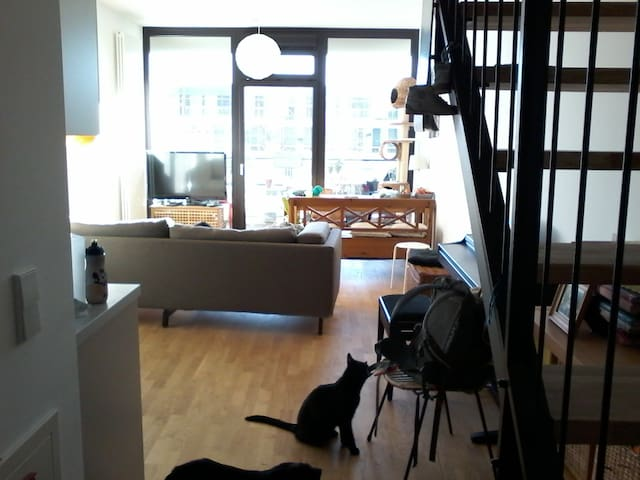 Beautiful 2-floor-appartment close to the airport - Berlin - Apartment