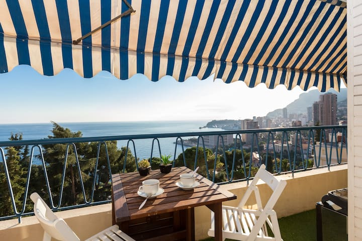 L'Apollon - at Monaco gate - Roquebrune-Cap-Martin - Apartment