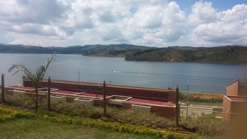 Apartamento con vista al lago