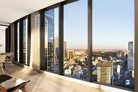 Brand new L30 apartment with Stunning city view - Melbourne - Huoneisto