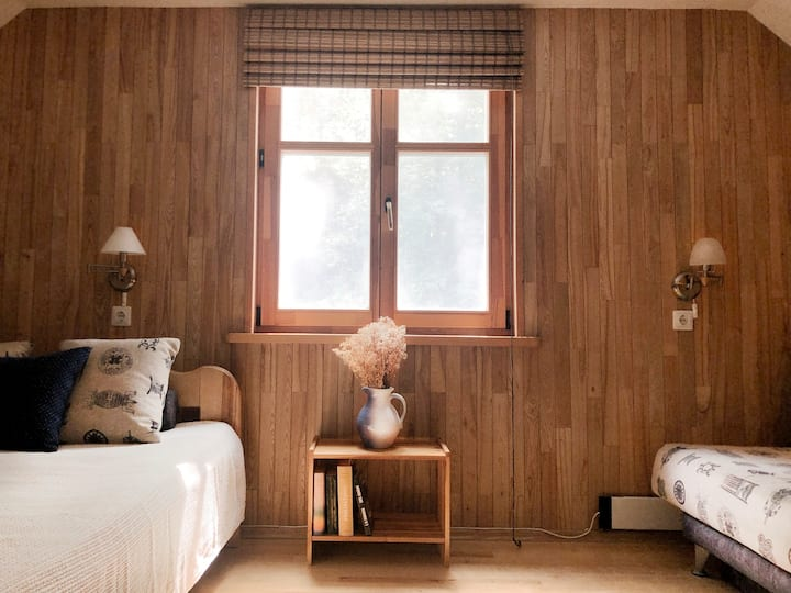 Cosy studio apartment in Curonian Spit