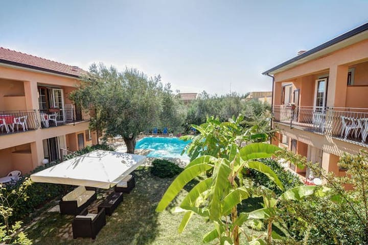 Villa con tutti i confort bar giardino e piscina - Marina di Camerota - วิลล่า