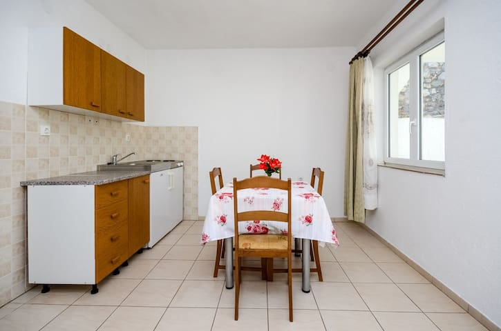 One bedroom Apartment, in Senj, Terrace